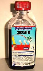 Siccatif huile de lin